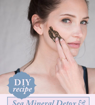 Sea Mineral Fresh Mask DIY